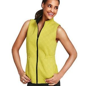 CAbi Travel Reversible Zippered Vest